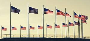 washington monument flags by stacie-w