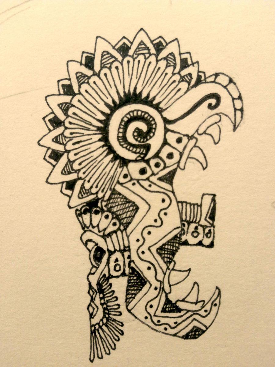 acat mayan god of tattoos. Black Bedroom Furniture Sets. Home Design Ideas