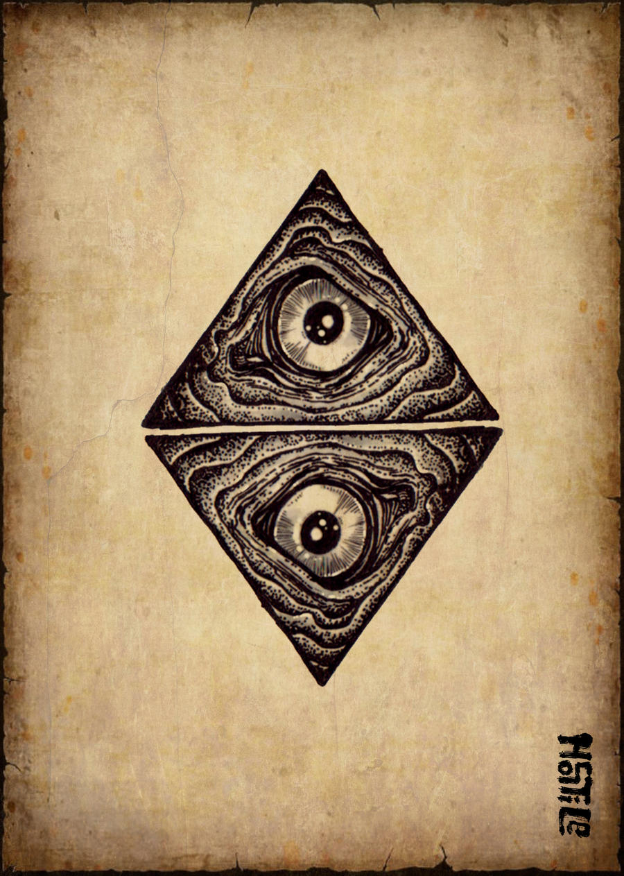 Triangle Eyes By Burke5