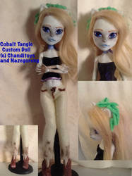 Cobalt Tangle Custom MH Doll by Chanditoys