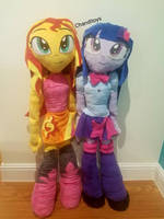 Commission: Large Equestria Girls Sunset Shimmer by Chanditoys