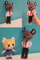 Aggretsuko Haida Miniature Plush by Chanditoys