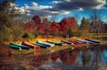Memorial Lake Autumn 2