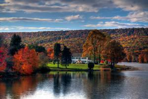 Memorial Lake Autumn 4 by Earth-Divine