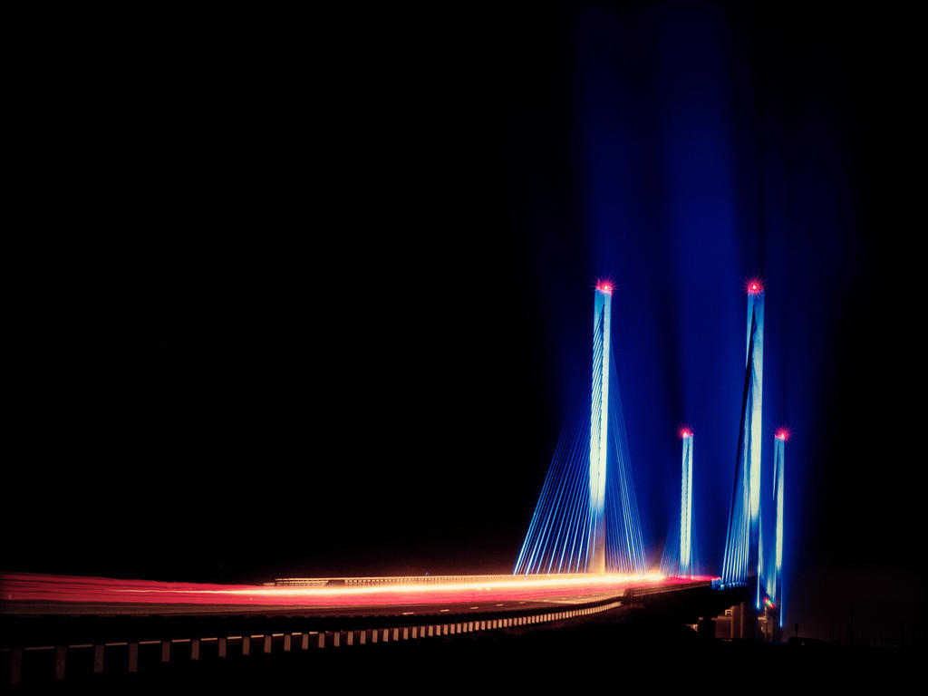 Indian River Bridge by kalika31