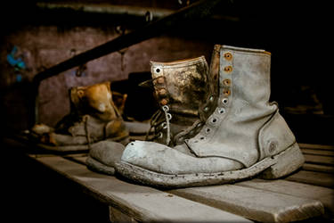 St. Nickolas Coal Breaker Boots by Earth-Divine