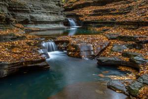 Buttermilk Falls 1 by Earth-Divine