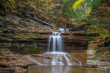Buttermilk Falls 11 by Earth-Divine