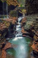 Rainbow Falls 3 by Earth-Divine