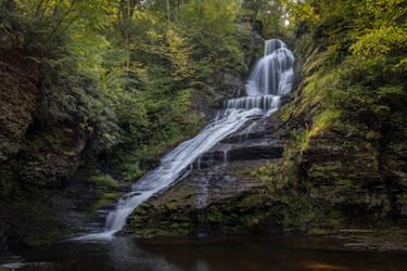 Dingmans Falls 2 by Earth-Divine