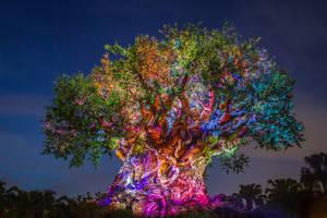 Tree of Life Awakening by Earth-Divine