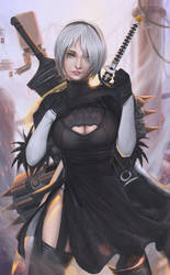 Yorha 2 type b by Ocetee