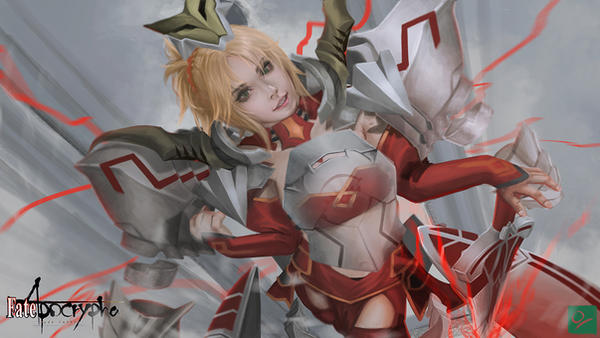 Mordred by Ocetee