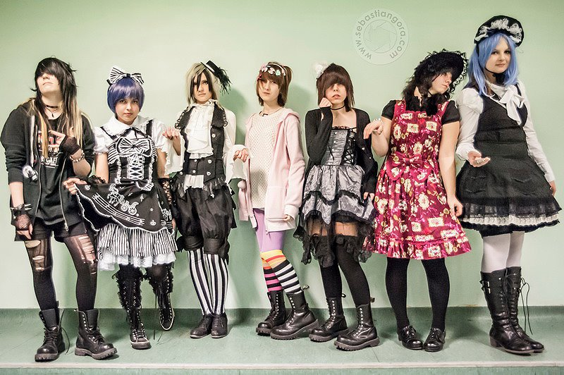 Harajuku fashion show by elisabeth341