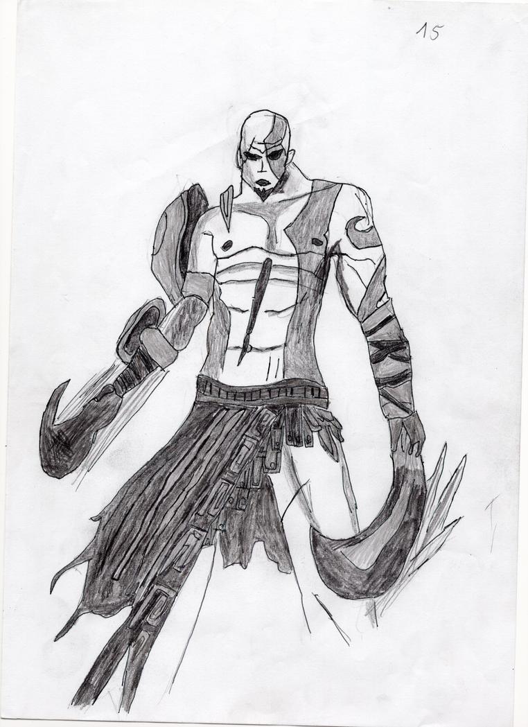 Kratos by LOrdalie