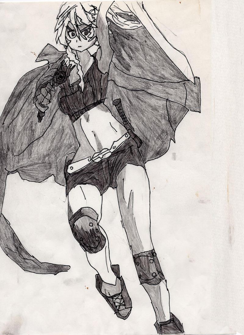Gunslinger by LOrdalie