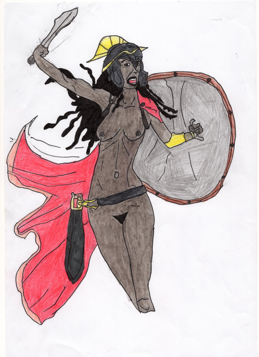 Spartan Amazoness by LOrdalie
