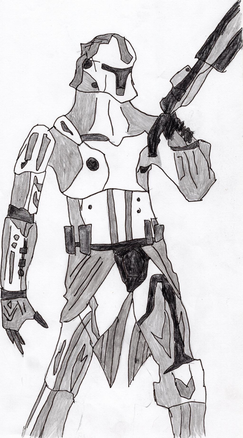 Clone Trooper by LOrdalie