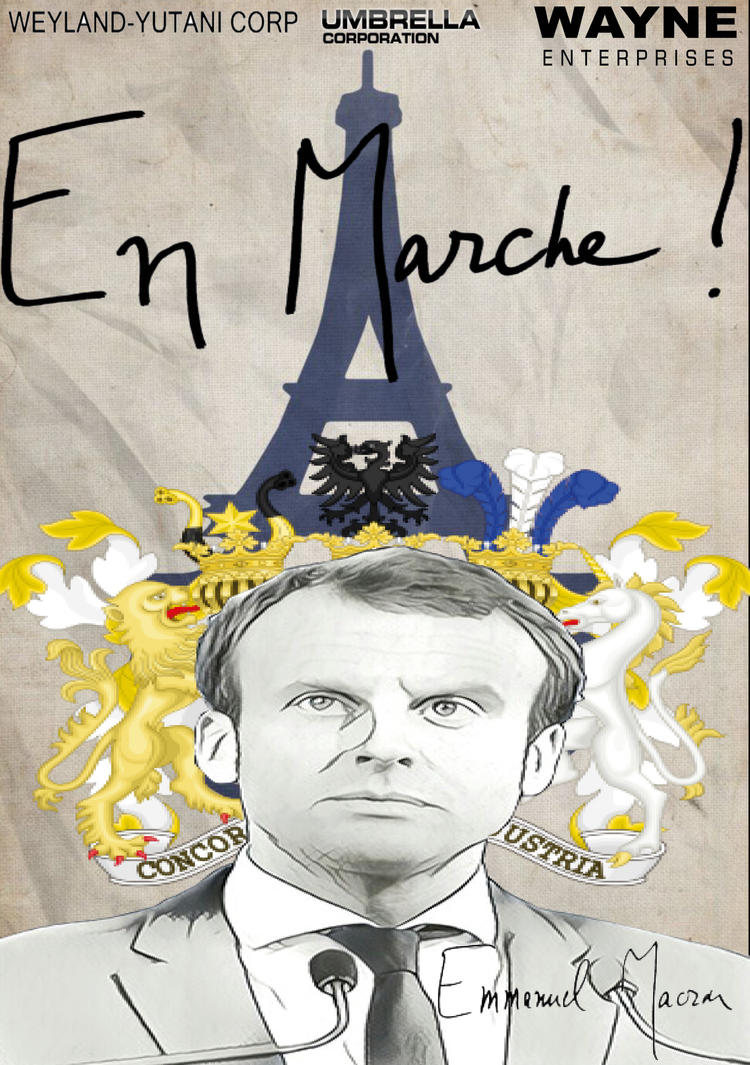 Fuck Macron by LOrdalie