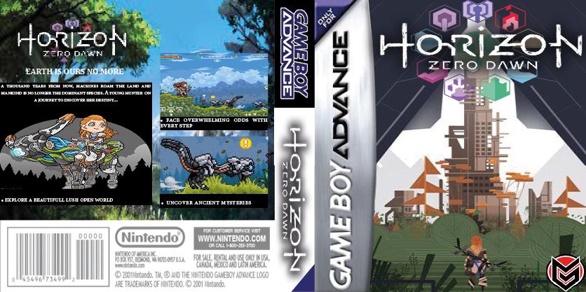 Horizon Zero Dawn Game Boy Advance by LOrdalie