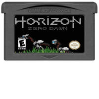 Game Horizon Zero Dawn on GBA by LOrdalie