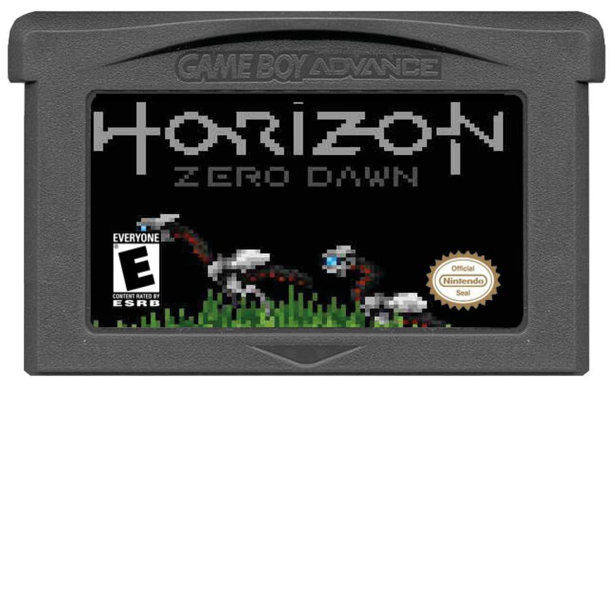 Game Horizon Zero Dawn on GBA by LOrdalie