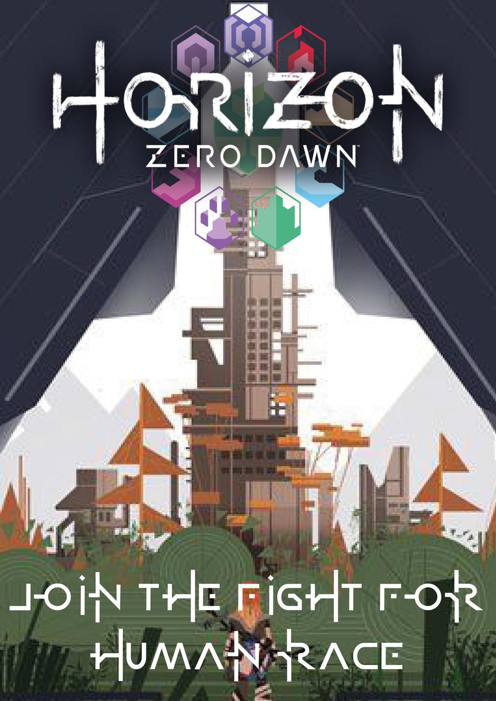 Horizon Zero Dawn Game Boy Advance Wallpaper by LOrdalie