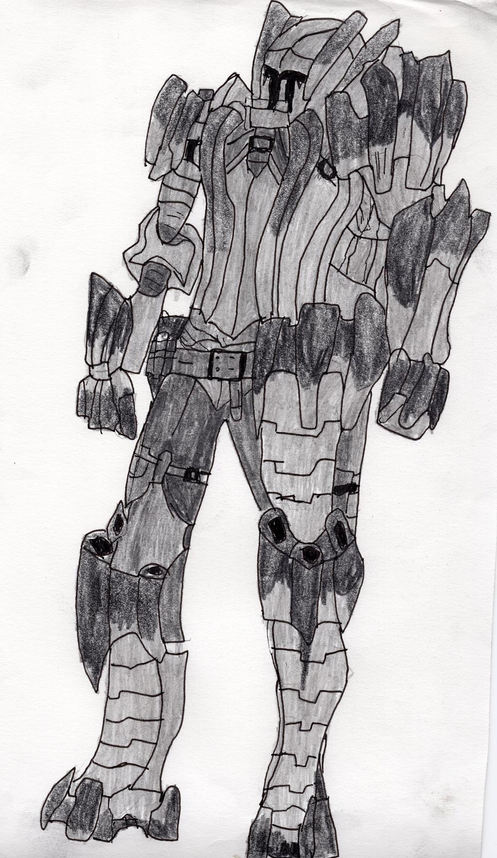 Barroth Armor by LOrdalie