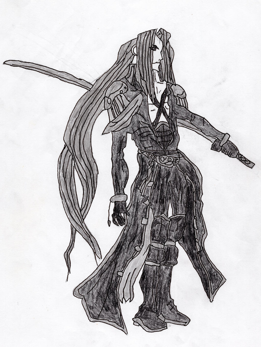 Sephiroth by LOrdalie