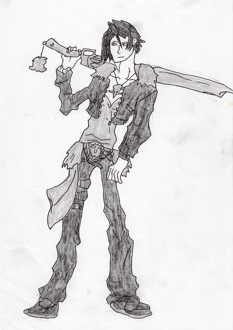 Squall Leonheart by LOrdalie