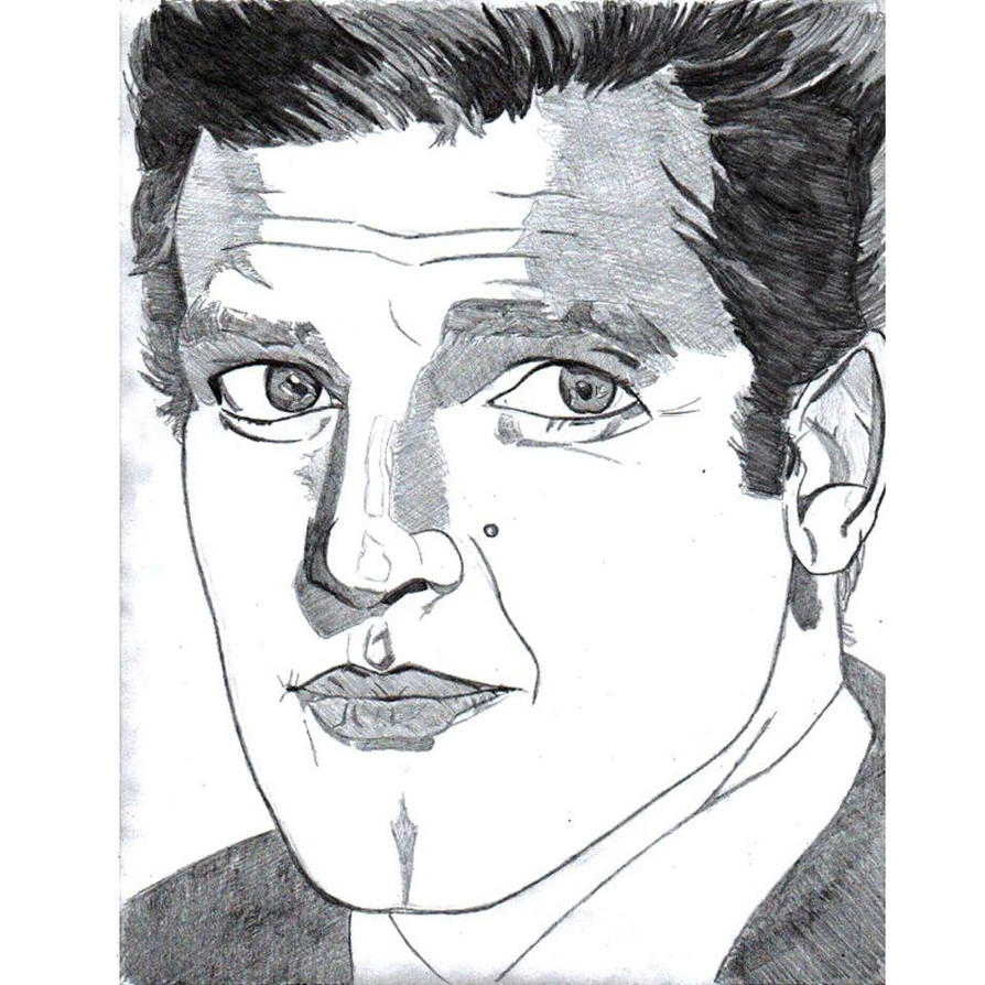 Roger Moore by LOrdalie