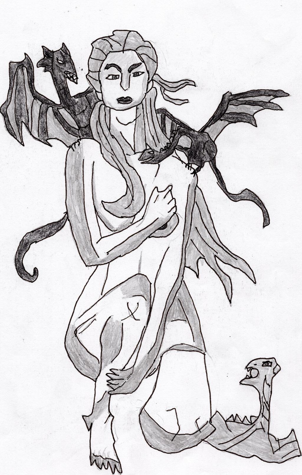 Daenerys Stormborn by LOrdalie