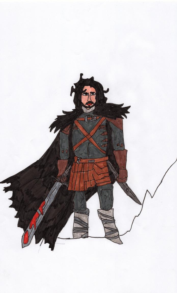 Jon Snow by LOrdalie