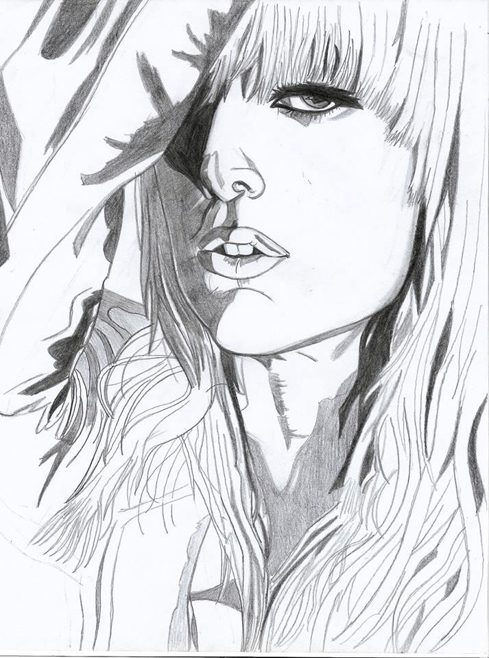 Lady Gaga by LOrdalie