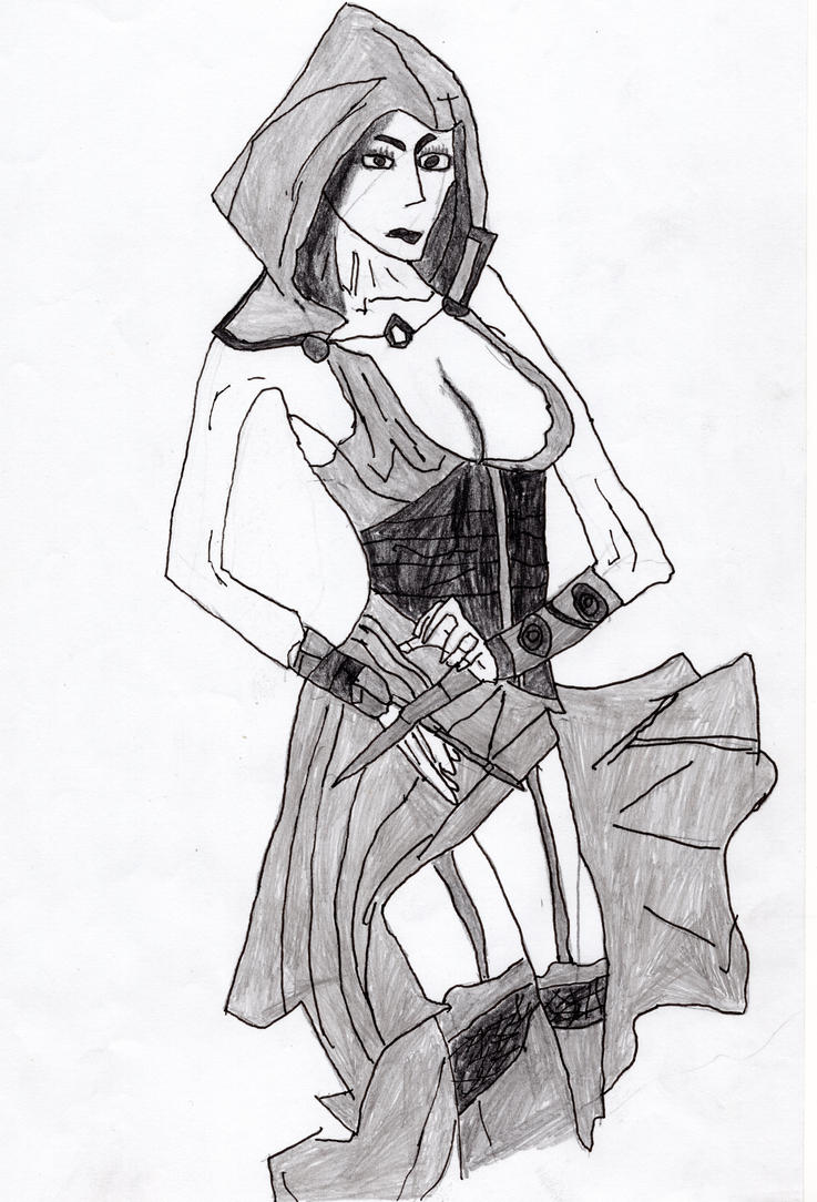 Assassin Creed # 2 : Assassin Girl by LOrdalie