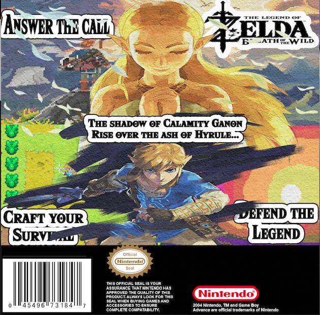 4 Couv Zelda BOTW GBA by LOrdalie