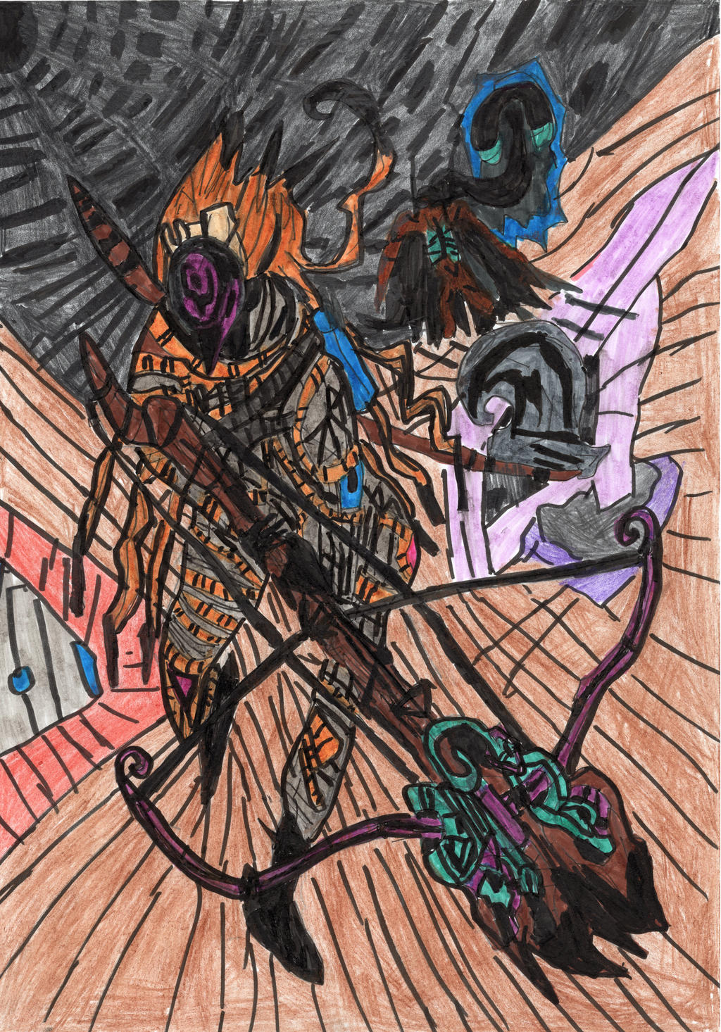 Arbalestrian Knight by LOrdalie