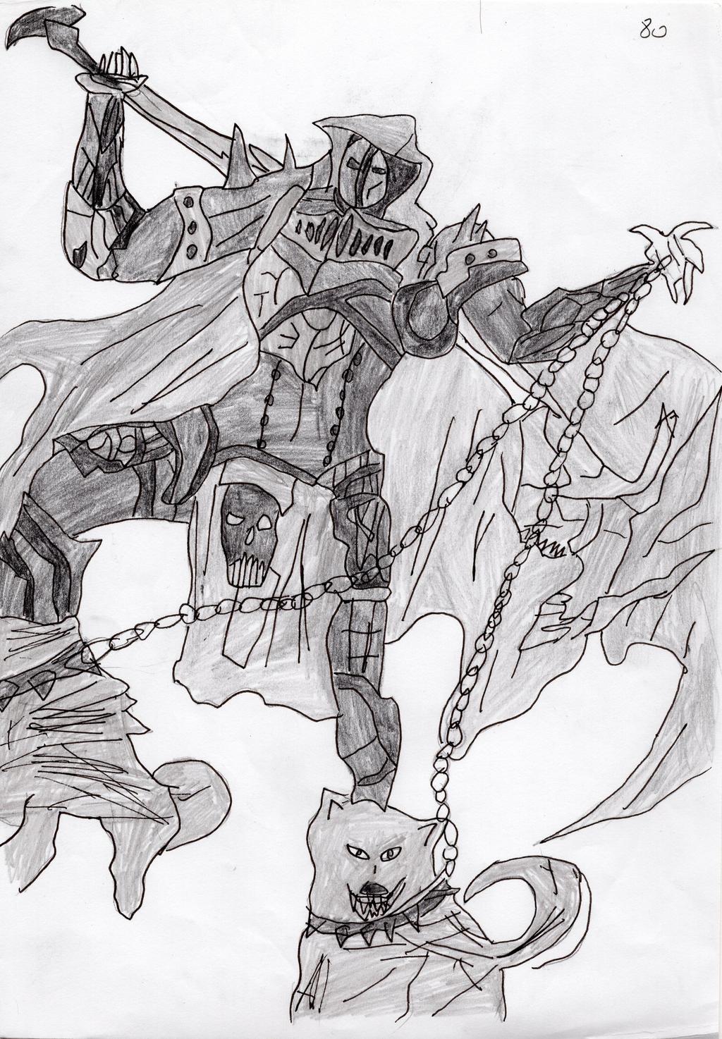Death Scythe by LOrdalie