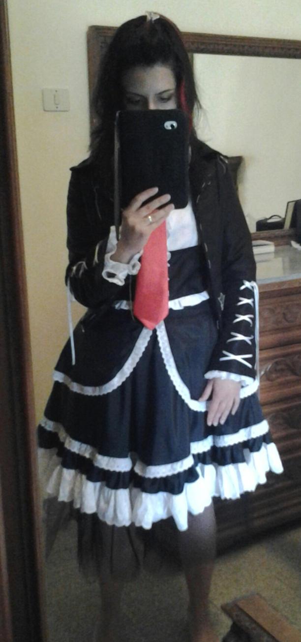 WIP - Celestia Ludenberg Outfit by SunakoNakahara1990