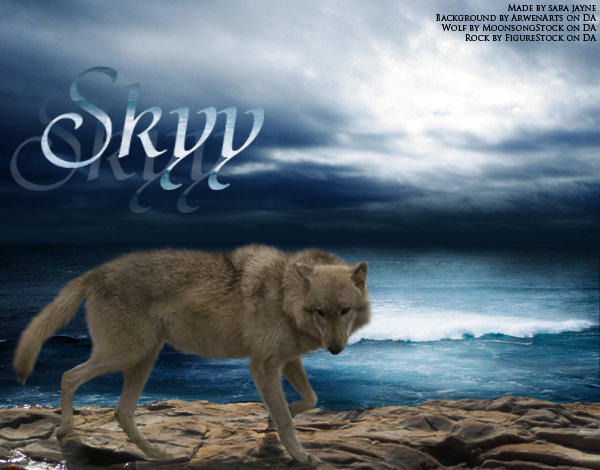 ^ Twilightstars ^ Wolves Wolf_in_a_Storm_by_SummerSun10