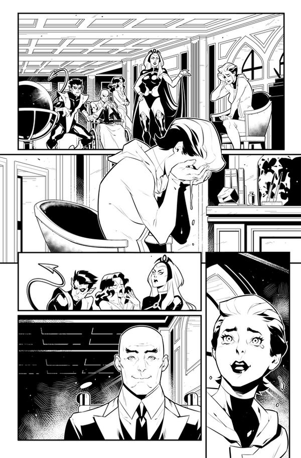 Uncanny Avengers #18 PAGE 1 by Nib2T