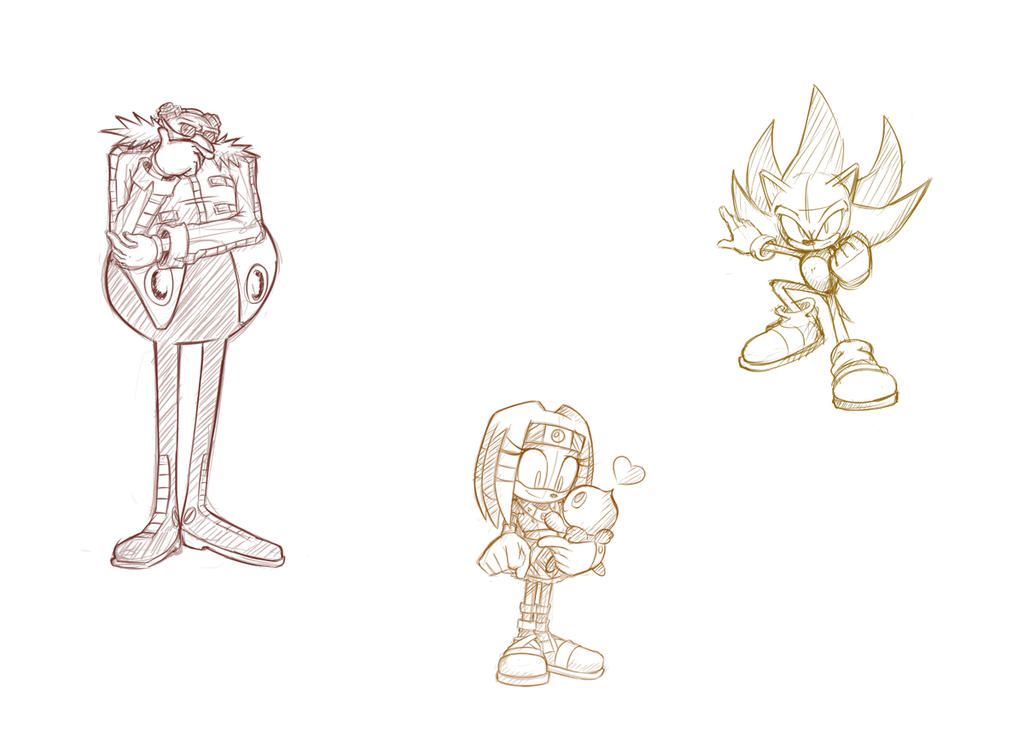 sonic_adventure___sketches_2_by_spyhedg-