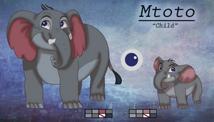 Mtoto - Reference Sheet by chizuu-ru