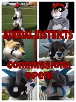 Fursuit Commissions Open!