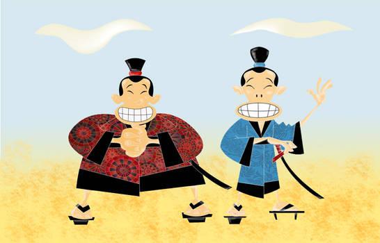Two Silly Samurais