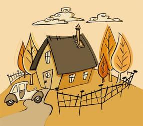 House_Car_Fence