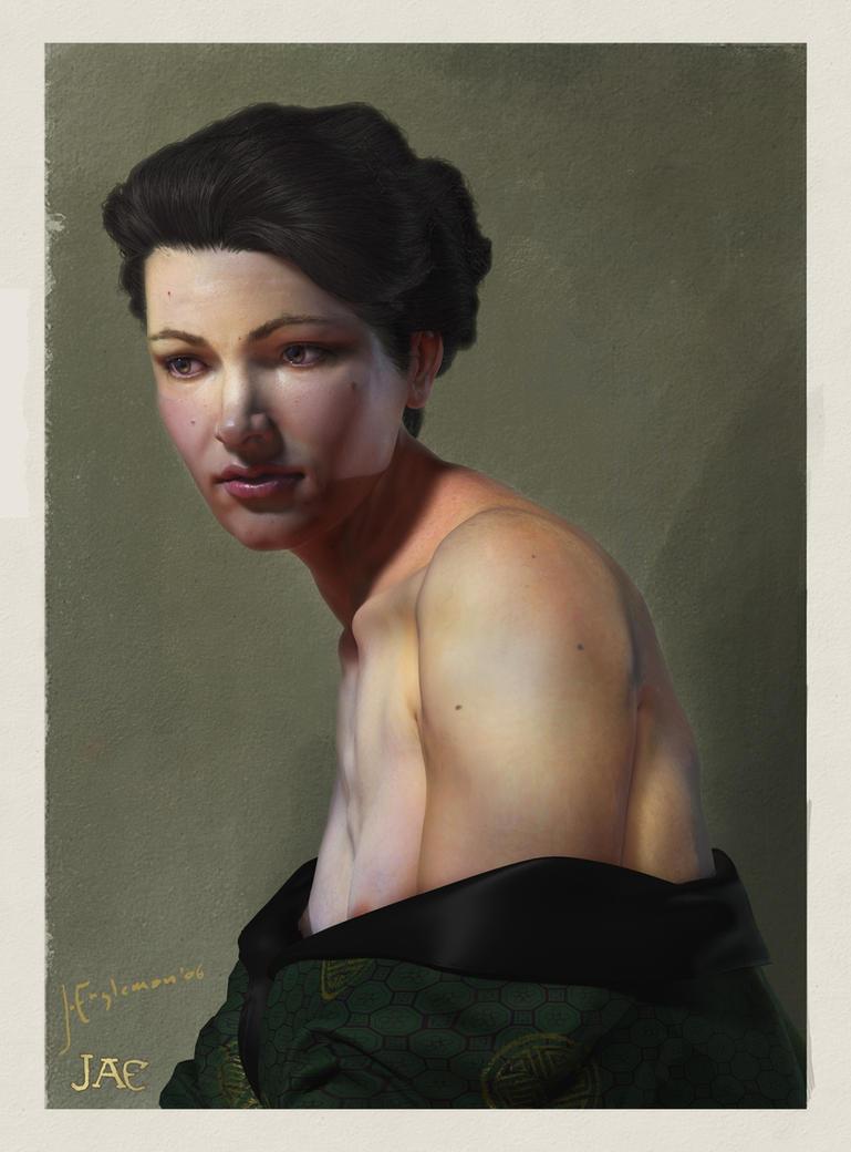 Head of a Woman by jeremyengleman