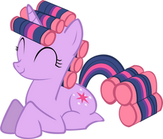 Twilight Sparkle Hair Curlers by sorata-daidouji