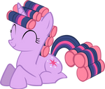 Twilight Sparkle Hair Curlers