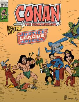 Conan VS The Justice League